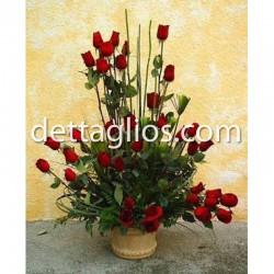 36 rosas en Base