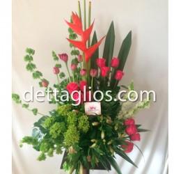 Diseño Rosas y Tulipanes