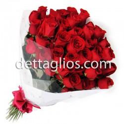 50 Rosas en Celofan