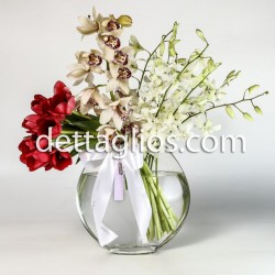 Flor en Pecera