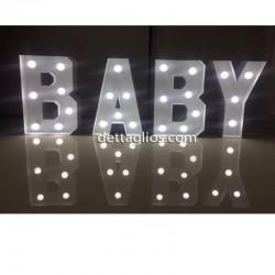 Letras Iluminadas BABY