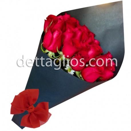 Rosas en Celofán