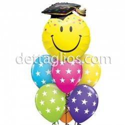 Ramillete Cara Graduado