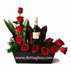 Rosas y Vino