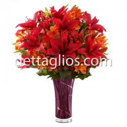 Lilies y Alstroemerias