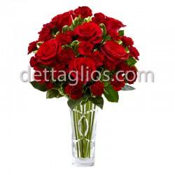 Rosas y Clavel