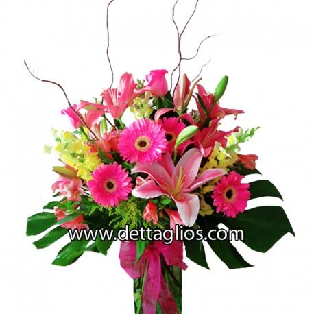 Diseño Floral Combinado