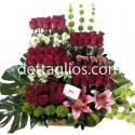 50 rosas en Niveles