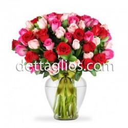 50 Rosas en colores
