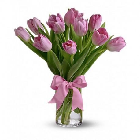 10 tulipanes