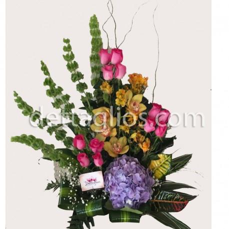 Diseño Orquidea y Hortencia