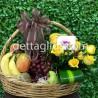 Canasta Frutal Ovalada