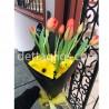 Gerberas y Tulipanes